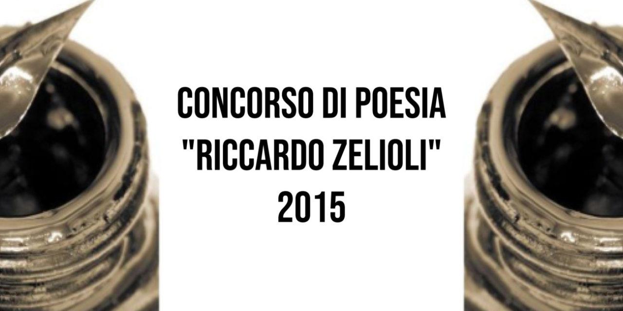 """Concorso di Poesia """"Riccardo Zelioli"""" 2015"""