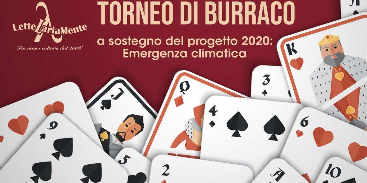 Torneo di Burraco – a sostegno del progetto 2020: Emergenza climatica