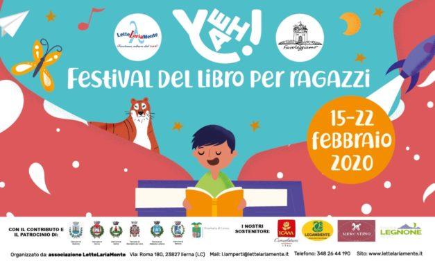 YEAH! Festival del libro per ragazzi – 15/22 febbraio 2020