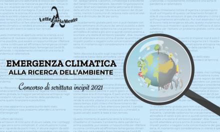 Risultati del XIII Concorso di scrittura su incipit di Raffaele Mentegazza 2021