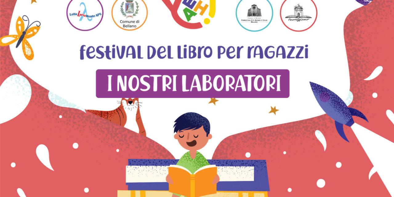 Yeah! Festival del libro per ragazzi – Laboratori 8-9 maggio 2021