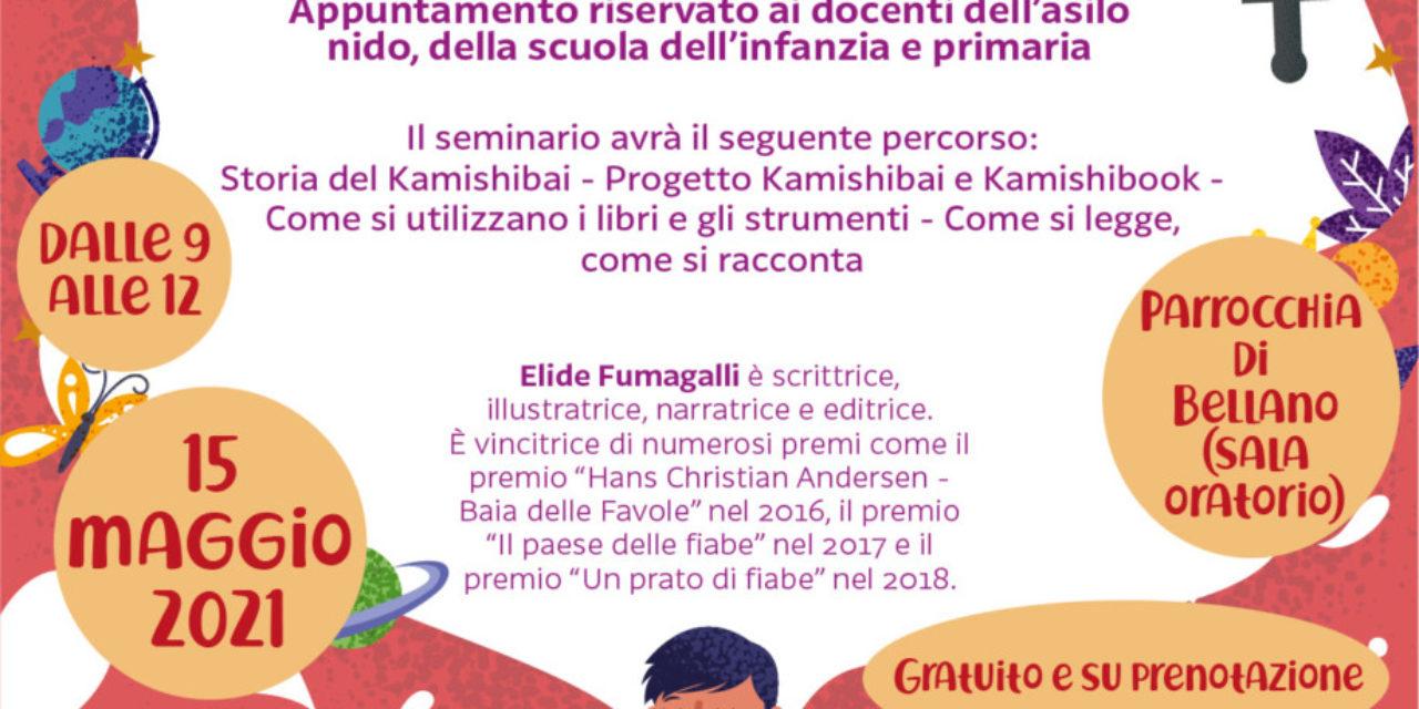 """Seminario """"Il Kamishibai nella didattica"""" con Elide Fumagalli"""